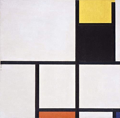 Berkin Arts Piet Mondrian Giclee Lienzo Impresión Pintura póster Reproducción Print(Cuadro)