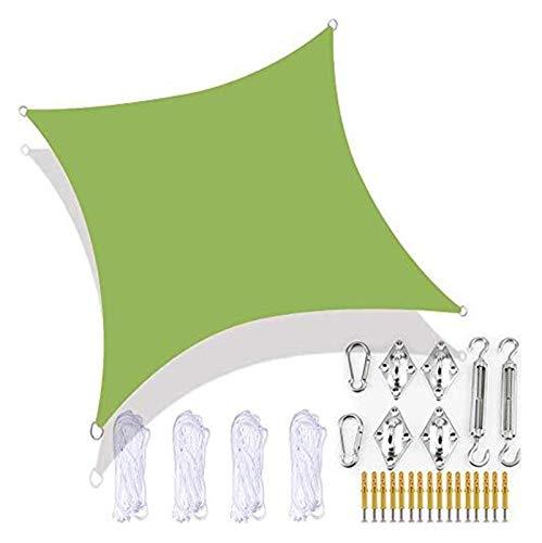 Toldos De Protección Solar con Toldo De Jardín Rectangular con Toldo De Vela con Kit De Fijación De Hardware 4 Cuerdas De Amarre Impermeable Bloque UV Lavable Patio Bañera De Hidromasaje