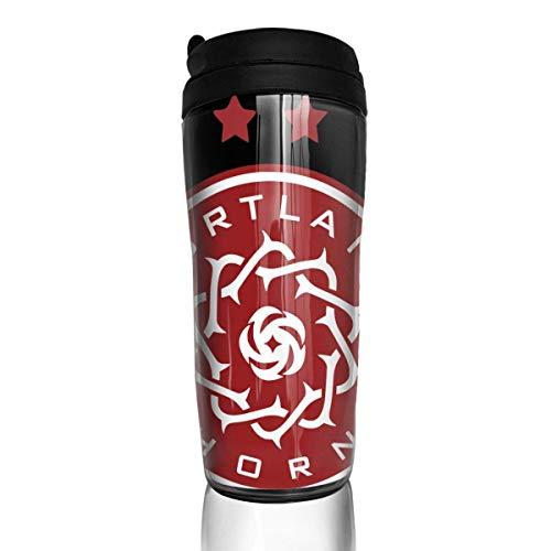 shenguang Chaxiedou Port-la-nd FC THO-rns Cup 3D Print Tumbler Travel Mug Vacuum Double Wall PortableMug
