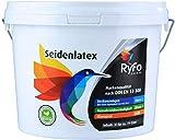 RyFo Colors Seidenlatex 3l - hochwertige zertifizierte Profi Wandfarbe