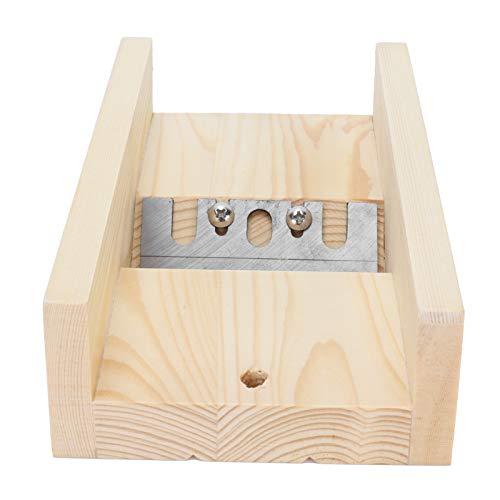 Recortadora de jabón Biseladora DIY Ajustable de madera de pino Cortadora de jabón hecha a mano Herramienta de recorte
