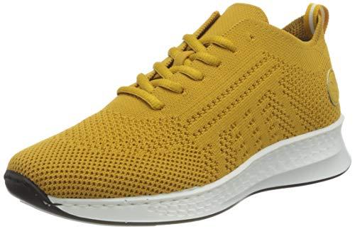 Rieker Damen N56K5 Sneaker, gelb,41 EU