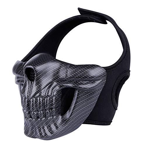 Máscara táctica para airsoft y paintball de camuflaje, fiesta de Halloween, cosplay