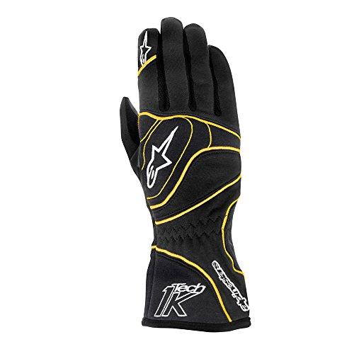 Alpinestars Tech 1 - K Handschuhe - Modell 2015 schwarz / orange fluor XXL
