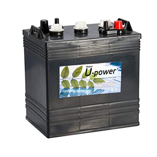 Master U-Power Batería Solar, Ciclo Profundo GC2TOP 250AH 6V, GC, UP-GC2TOP