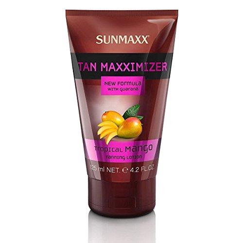 Lotion de bronzage Sunmaxx Tan Maxximizer Tropical Mango - 125 ml - Pour soins cosmétiques de bronzage