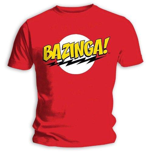 T-Shirt The Big Bang Theory Bazinga! (M)