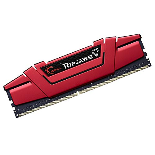 G.SKILL Ripjaws V 8GB (1 * 8GB) DDR4 3000 MHz CL16-18-18-38 1.35V Desktop Memory RAM - F4-3000C16S-8GVRB