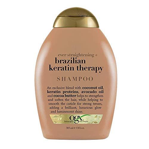 Ogx Shampoo Brazilian Keratin Therapy 13 Ounce (384ml) (2 Pack)