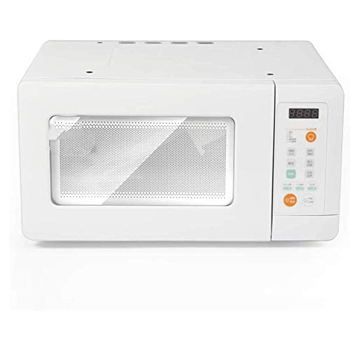 JHBNOIUKJS Mini Colgando de microonda, de un Toque de COCCIÓN, Solo Horno de microondas Fácil de Limpiar- Acero Inoxidable, for cocinar al Vapor/Calefacción/ebullición