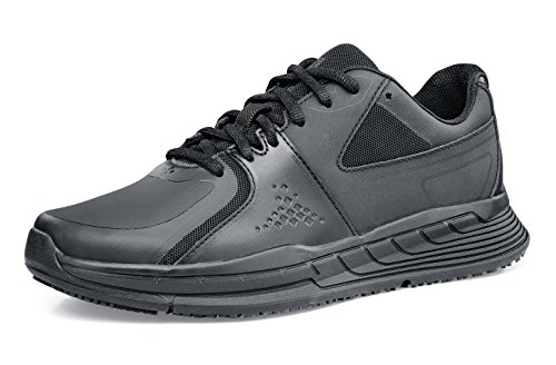 Shoes for Crews 26730-39/6 Condor Womens rutschhemmende Turnschuhe, Damen, Größe 39 EU, Schwarz
