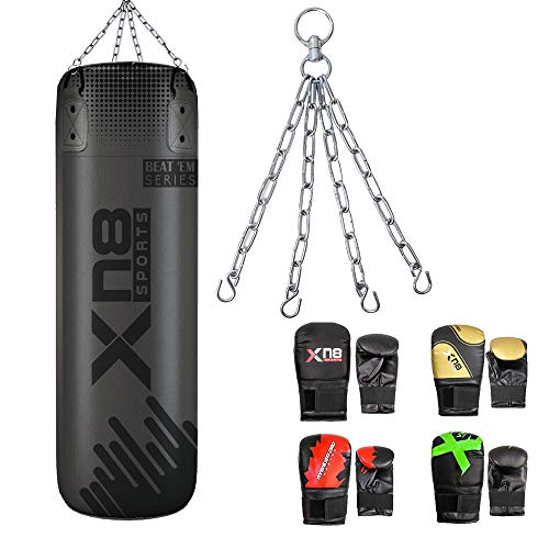 XN8 Saco de Boxeo vacío para Kick Boxing - Bolsa de Boxeo...