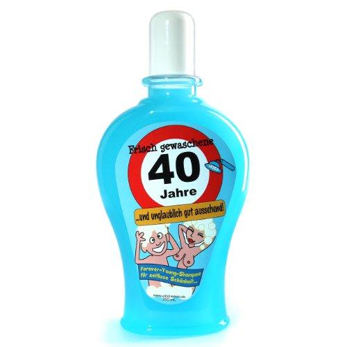 Udo Schmidt–Champú recién gewaschene 40–(Azul) 350ml