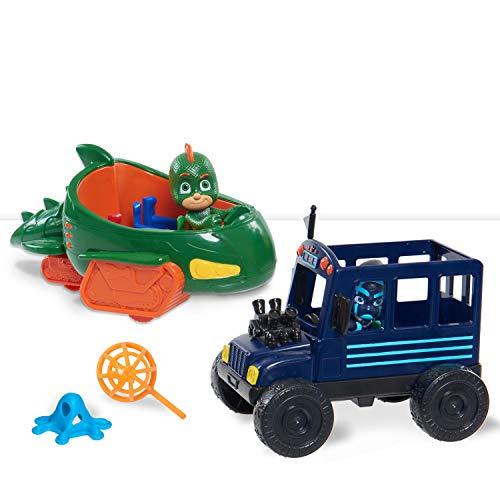 PJ Masks Hero vs. Villain Vehicles- Gekko & Ninja