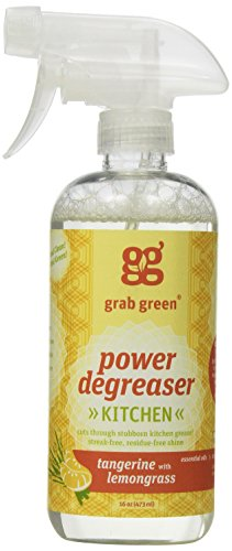 Grab Green Natural Power Degreaser, Biodegradable, Residue &...