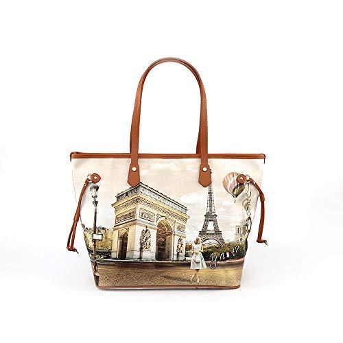 YNOT donna borsa shopping L-319 VIE EN UNICA Vie en