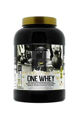MTX nutrition OneWhey Gourmet [2,268 kilos] 5 Lbs. Choco Blanco Matriz de Lactoproteinas Premium obtenidas por ultrafiltración sabores naturales ✅