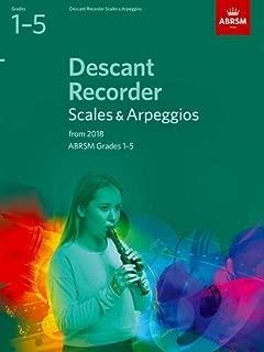 Descant Recorder Scales & Arpeggios, ABRSM Grades 1-5: from 2018 (ABRSM Scales & Arpeggios)