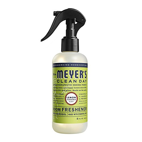 MRS MEYERS - Clean Day Air Freshener - New Improved Style - LEMON VERBENA - 8OZ