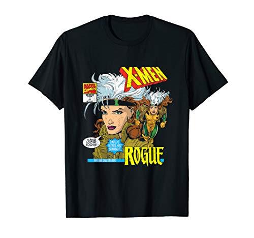 Marvel X-Men Rogue Anna Marie Comic Black T-Shirt