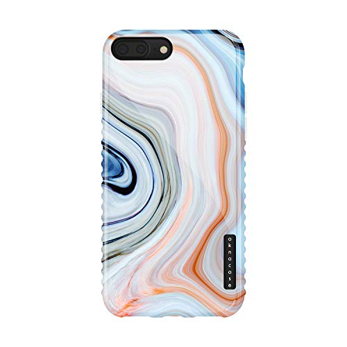 iPhone 8 Plus & iPhone 7 Plus Case Marble, Akna GripTight Series High Impact Silicon Cover with Full HD Graphics for iPhone 8 Plus & iPhone 7 Plus (Graphic 101985-U.S)