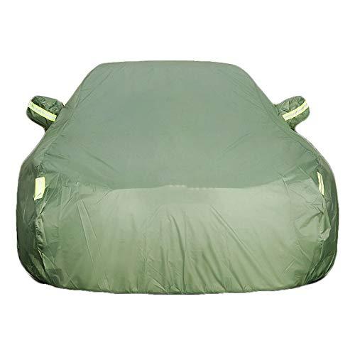 QI-CHE-YI autohoes zonnescherm regenhoes compatibel met Ford Escort, Focus, Mondeo, Taurus, Fiesta, Edge, Kuga, Eso Sport
