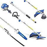 <span class='highlight'><span class='highlight'>Hyundai</span></span> 5 in 1 Powerful 52CC Petrol Multi Functional Garden Tool, Grass Trimmer, Hedge Trimmer, Pruner Chainsaw, Brushcutter & Extension Pole 3 Year <span class='highlight'><span class='highlight'>Hyundai</span></span> Warranty, HYMT5200X