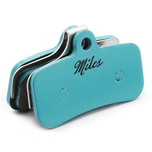 Miles Racing ® Fahrrad MTB Scheibenbremsbeläge, semi metallisch für Shimano New Saint, Tektro Dorado & Orion