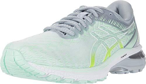 ASICS Zapatillas de correr para mujer GT-2000 8, azul (tinte menta/blanco), 37.5 EU