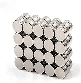5x1mm 150pcs 5x1mm Round Cylinder Magnets Deep DIY Personalized Multi-Use for Fridge Door Whiteboard Magnetic Map Magnetic Screen Door Bulletin Boards Refrigerators