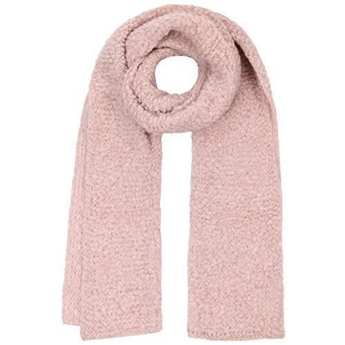 Lierys Boucle Strickschal Damenschal Wollschal Schal Damen - Made in Germany Herbst-Winter - One Size rosa