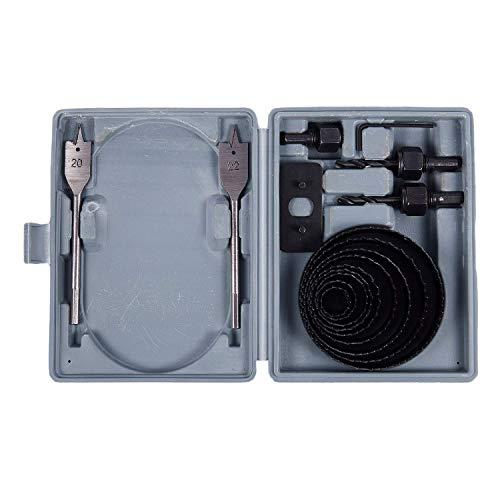 LKK-KK 14 Piezas 7/8-4 sierra agujero Kit Él Key Drive nd Plate for el tablero de madera de plástico de PVC de perforación de la placa