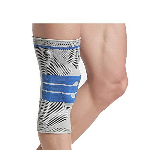 Demarkt Kniebandage für Damen und Herren, Knieschoner Elastische atmungsaktiv Kompression für mehr Stabilität beim Sport und im Alltag,wirkt schmerzlindernd bei Gelenkkrankheiten - 1 stück (XL)