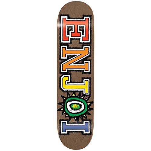 Enjoi What's The Deal R7 8.375 Inch Skateboard Deck 8.375 inch Brown