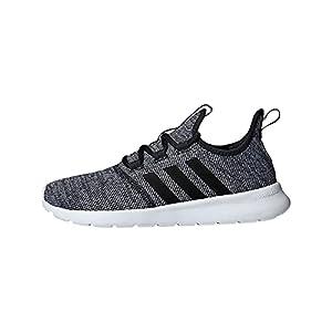 adidas Women's Cloudfoam Pure 2.0 Running Shoes, Black/Black/White, 8