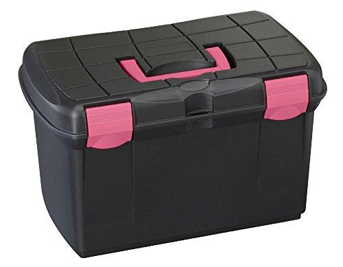 Protack Grooming Box Medium Black/fuchsia - Black/Fuchsia, Regular