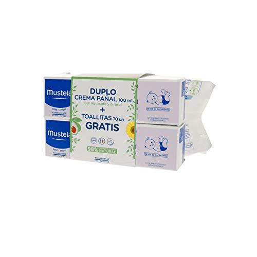 Mustela Duplo Balm Cream 100ml + Wipes 70 Units