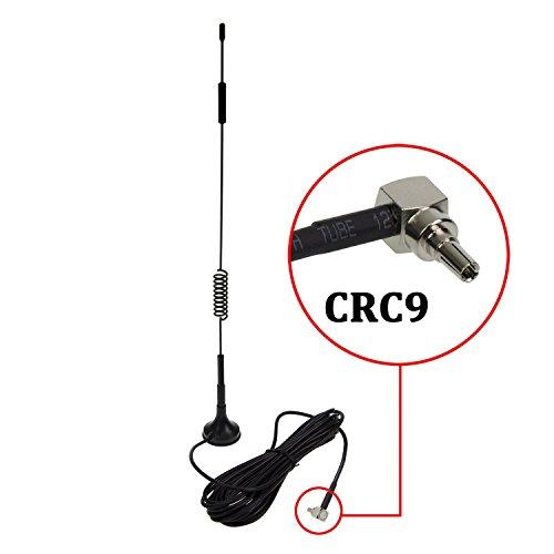 CRC9 4G Antenne, LTE Antenne WiFi Signal Booster Verstärker Modem Adapter Netzwerk Empfänger / CRC9 Stecker / 3m Kabel / 12 dBi Hochleistungs Gewinn (Antenne CRC9)
