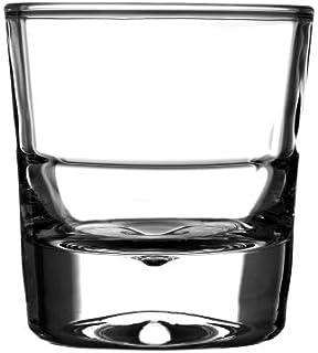 Borosil Mercury Glass Set, 140ml, 6-Pieces, Transparent