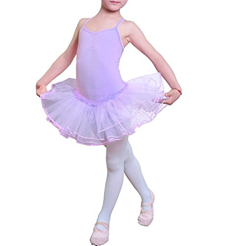 iMixCity Ragazza Leotard Vestito Tutu Balletto Dancewear Body Ginnastica Abbigliamento 3-12 Anni …