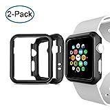 Custodia per Apple Watch 2&3 : Custodia per paraurti resistente agli urti, progettata specificamente per la NUOVA serie di orologi Apple 2&3 (38mm). 【Assicurati che il tuo Apple Watch abbia una dimensione di 38mm o 42mm prima di effettuare un ordine....