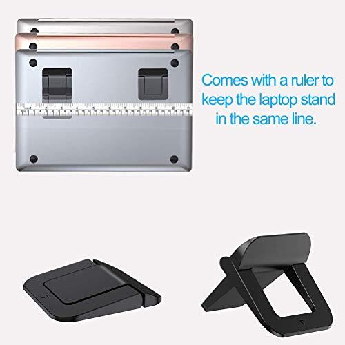 Laptopständer, Notebook-ständer, Universal Kühlung Laptop Halterung Riser, Demontierbar mit Belüftung, Tragbarer Notebook Ständer für Laptop