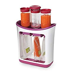 Infantino fresh squeezed squeeze station baby food mills baby food maker baby food pouches