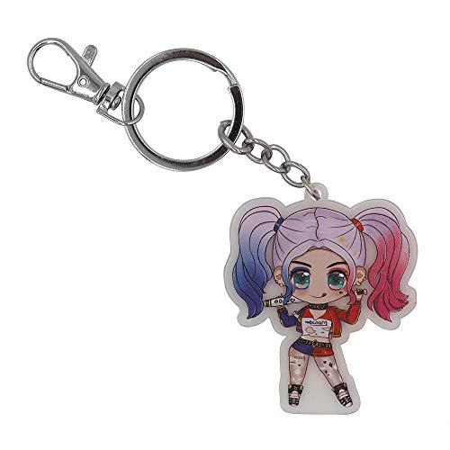 41ipnggUUdL Harley Quinn Keychains