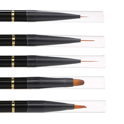 10 stuks acryl nagelborstelkit voor doe-het-zelf uv-gel nagelbuilder penseel schilderij tekening nagelpen set professioneel nagelgereedschap