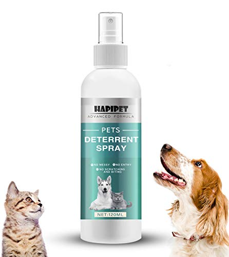Pets Deterrent Spray, Pet Training Spray for Dog and Cat, Pet Behavioral Training Aid with Bitter for Furniture, Indoor and Outdoor Use