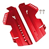 wjyfexble Protector de Cubierta de la Rejilla del radiador de la protección Lateral de la Motocicleta para YA*MA*HA MT-07 FZ-07 2013-2017 hnwyj (Color : Red)