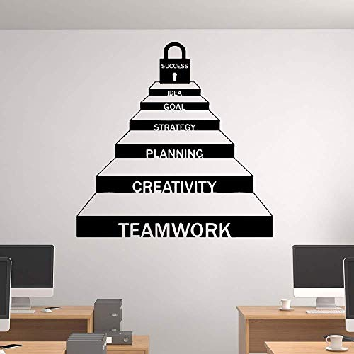 Wall Stickers,Exquisite teamwork career ladder decoration office stickers removable home decoration L 58cmX58cm