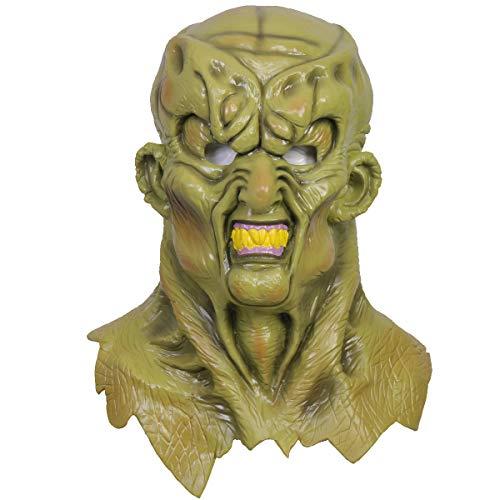 The Haunted Mask Goosebumps Masks Cosplay Full Head Green Latex 2019...