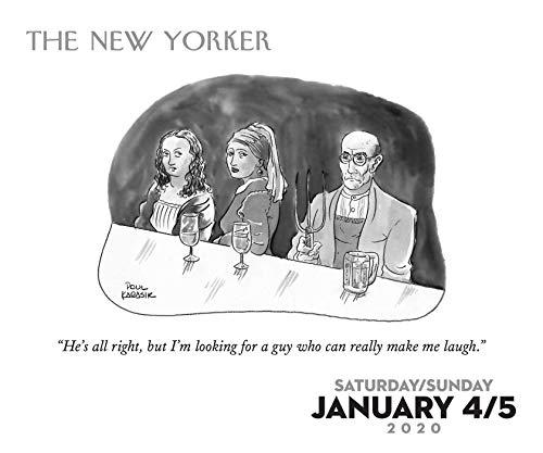 Cartoons from The New Yorker 2020 Day-to-Day Calendar